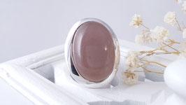 Silberring mit Chocolat-Mondstein (DFR 45)