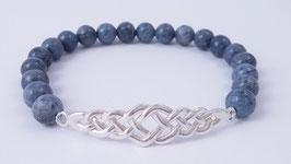 Herren-Armband aus Blauquarz * (HAB 3)