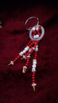 rot-weiße Perlen