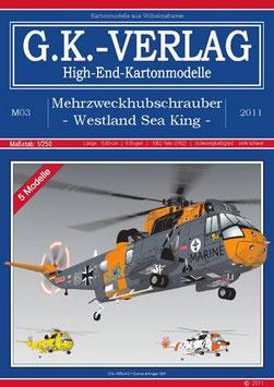 5 Mehrzweckhubschrauber Westland Sea King, deutsche  Anleitung, extrem