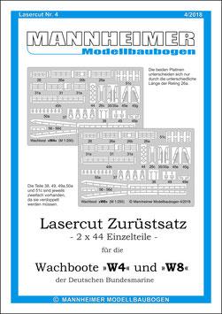 Lasercut Nr. 4,  Mannheimer Modellbaubogen (4/2018)