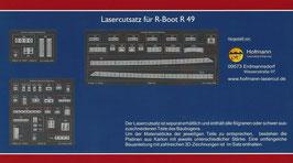 Lasercut Zurüstsatz für ein R-Boot