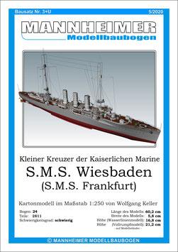 Bausatz Nr. 3+U,  Mannheimer Modellbaubogen  (5/2020)
