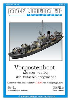 Bausatz Nr. 5a,  Mannheimer Modellbaubogen (5/2020)