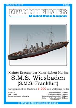 Bausatz Nr. 3a+U,  Mannheimer Modellbaubogen  (11/2017)