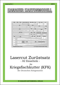 Lasercut Nr. 2,   Hanauer Kartonmodell  (4/2015)