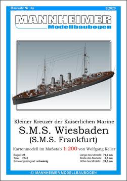 Bausatz Nr. 3a,  Mannheimer Modellbaubogen  (11/2017)