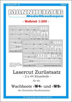 Lasercut Nr. 4a,  Mannheimer Modellbaubogen (4/2017)