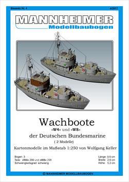 Bausatz Nr. 4,  Mannheimer Modellbaubogen (4/2017)