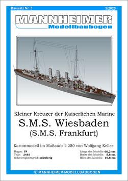 Bausatz Nr. 3,  Mannheimer Modellbaubogen  (5/2020)