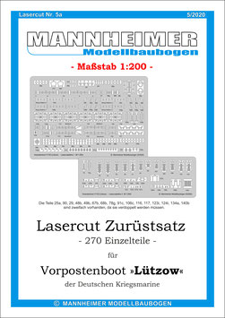 Lasercut Nr. 5a,  Mannheimer Modellbaubogen (5/2020)