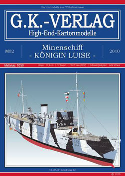 Minenschiff Königin Luise (Frühjahr 1941),  deutsche Anleitung, extrem