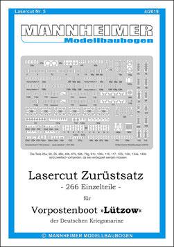 Lasercut Nr. 5,  Mannheimer Modellbaubogen (4/2019)