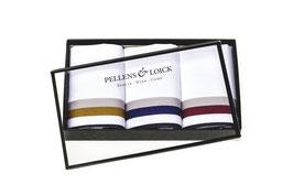 Taschentücher Klassik mit drei Streifen