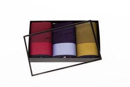 Taschentücher bunt mit Atlaskante