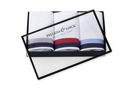 Taschentücher Klassik mit Atlaskante