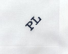 Monogramm Blockschrift