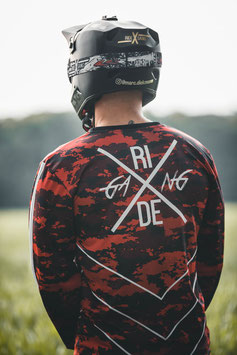 Red Camo Jersey