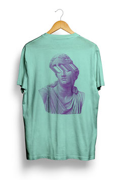 Portraits T-Shirt Mint Heather