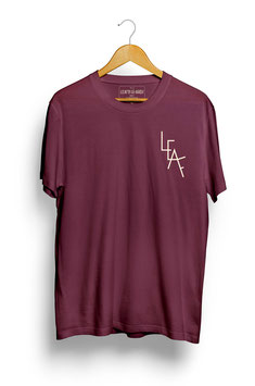 Leaf T-Shirt Maroon