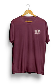 Classic Logo T-Shirt Maroon