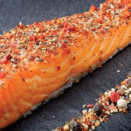 A133 - Pavés de saumon fumé saveur provençale
