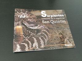 Guía de bolsillo de serpientes comunes de la región de San Quintín