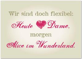 flexibel...