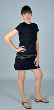 Vestido de lactancia CLASSIC negro