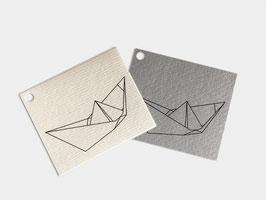 Schwammtuch Papierschiff