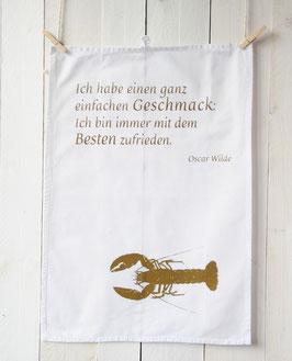"""Geschirrtuch """"Geschmack"""", gold"""