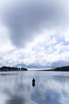 Pêcheur - Lac Servières - Auvergne