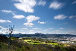 Puy de Dôme 2 - Vue du plateau de Gergovie - Auvergne