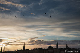 Stockholm - Tombée de la nuit