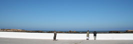 Essaouira - Panoramique - Pêcheurs