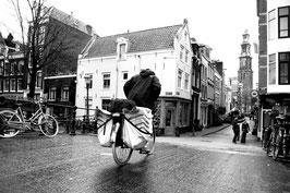 Cycliste - Noir & Blanc