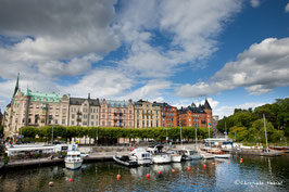 Stockholm - Le port