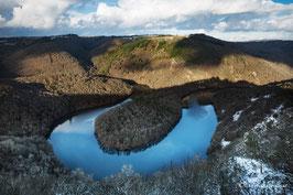 Méandre de Queuille - Hiver- Auvergne
