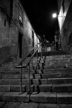 Porto - Escaliers N&B