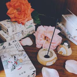 Encens japonais naturel à l'écorce de tabu - boîte de 125 g (≈250 bâtonnets) !!!