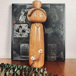 Grande kokeshi de Daisuke Takeda - 36 cm !