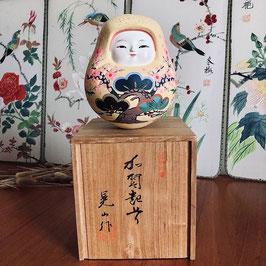 Poupée kaga ningyo, hachiman okiagari koboshi