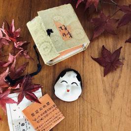 Kôgô Okame en porcelaine / Ere Taisho