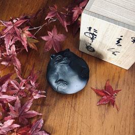 Kôgô Tanuki en raku / Shôraku Sasaki / Full black