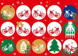 Kreise Fahrräder Weihnachten