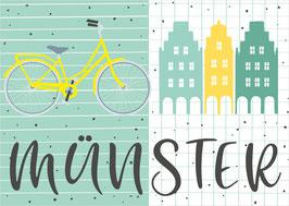 Fahrrad und Giebel