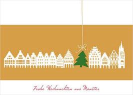 Giebelhäuser - Tanne – Frohe Weihnachten aus Münster