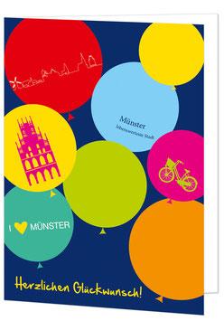 Münster Ballons - Herzlichen Glückwunsch