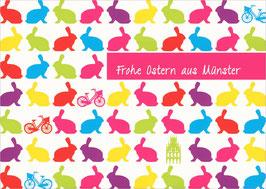 Hasen und Fahrräder