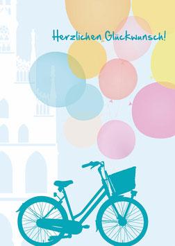 Fahrrad / Herzlichen Glückwunsch!